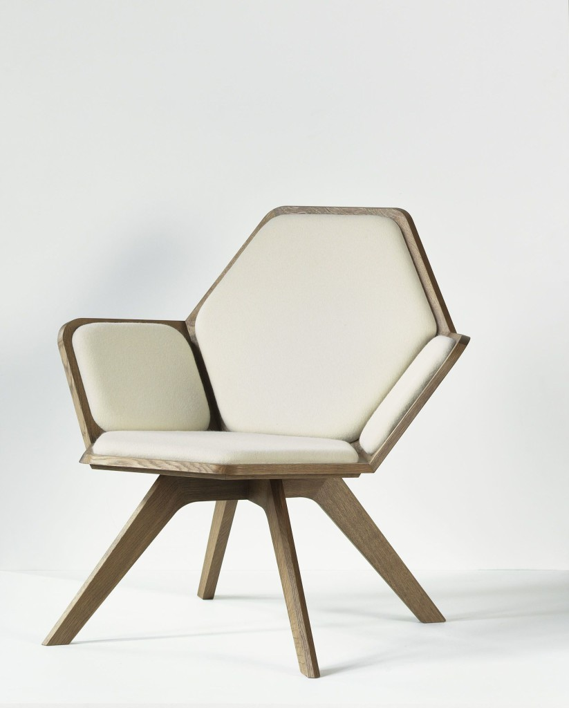 2012 Massive oak and wool  87 x 73 x 78 (h) cm Limited edition of 12 Handmade by the artist