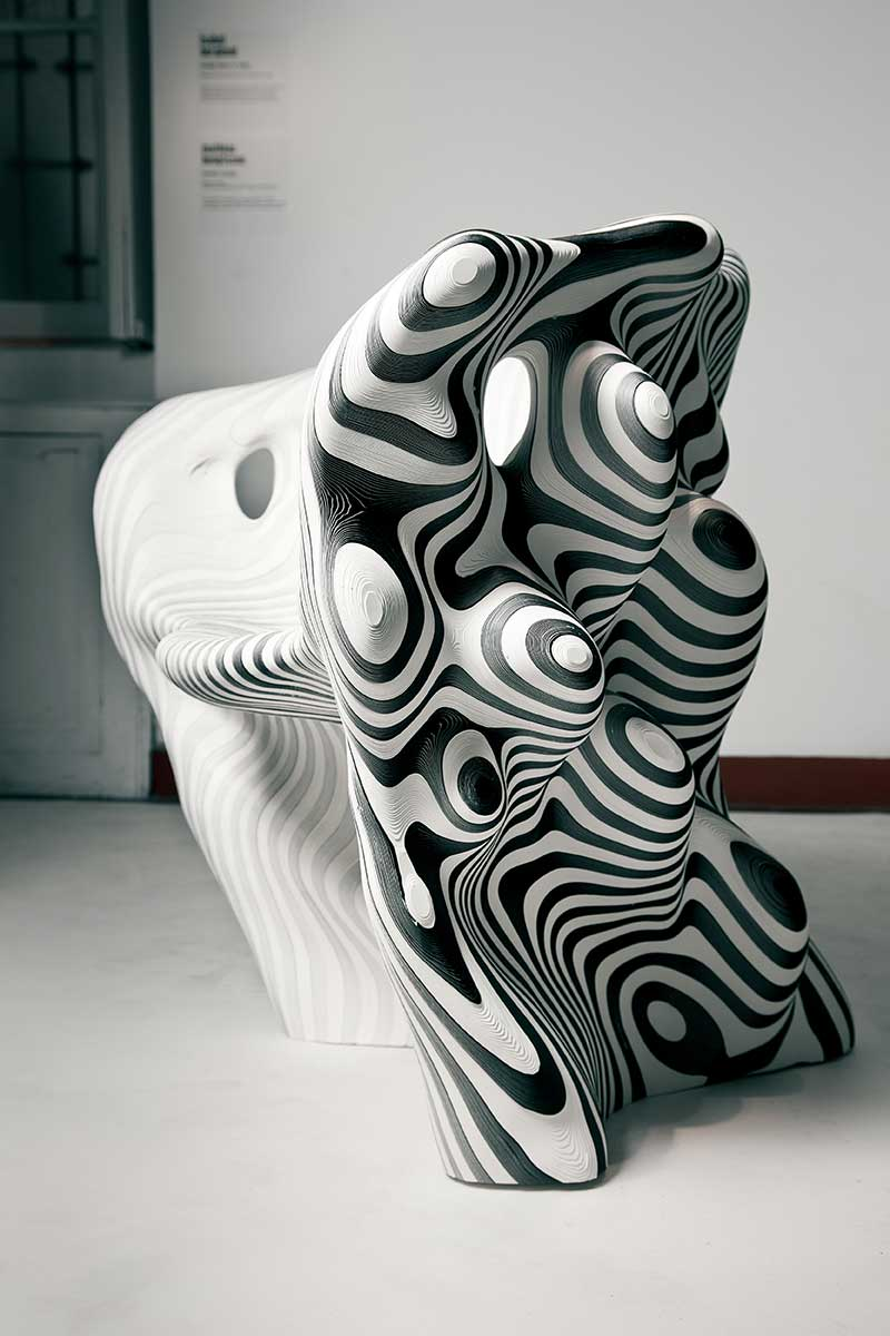 Recycled Laser Cut Paper Ca 85 X 75 X 75 Cm Limited Edition Of 20. Paper  Chair