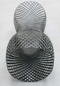 2003 Carbon fiber 210 x 85 x 87 cm Limited edition of 20 pieces