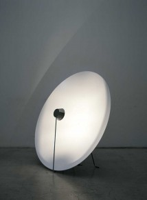 2006 Aluminium, LED Diam : 120 cm  Depth : ca 40 cm Limited edition of 20