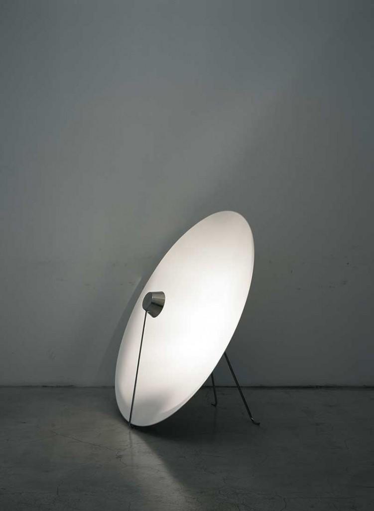 2006 Aluminium, LED Diam : 120 cm  Depth : ca 40 cm Limited edition of 20