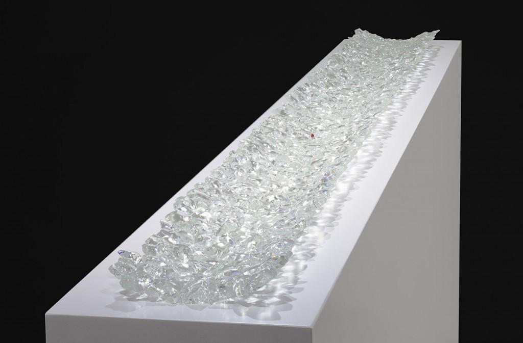 2012  Murano glass  179 (L) x 17 (W) x 3 (H) cm  Unique piece