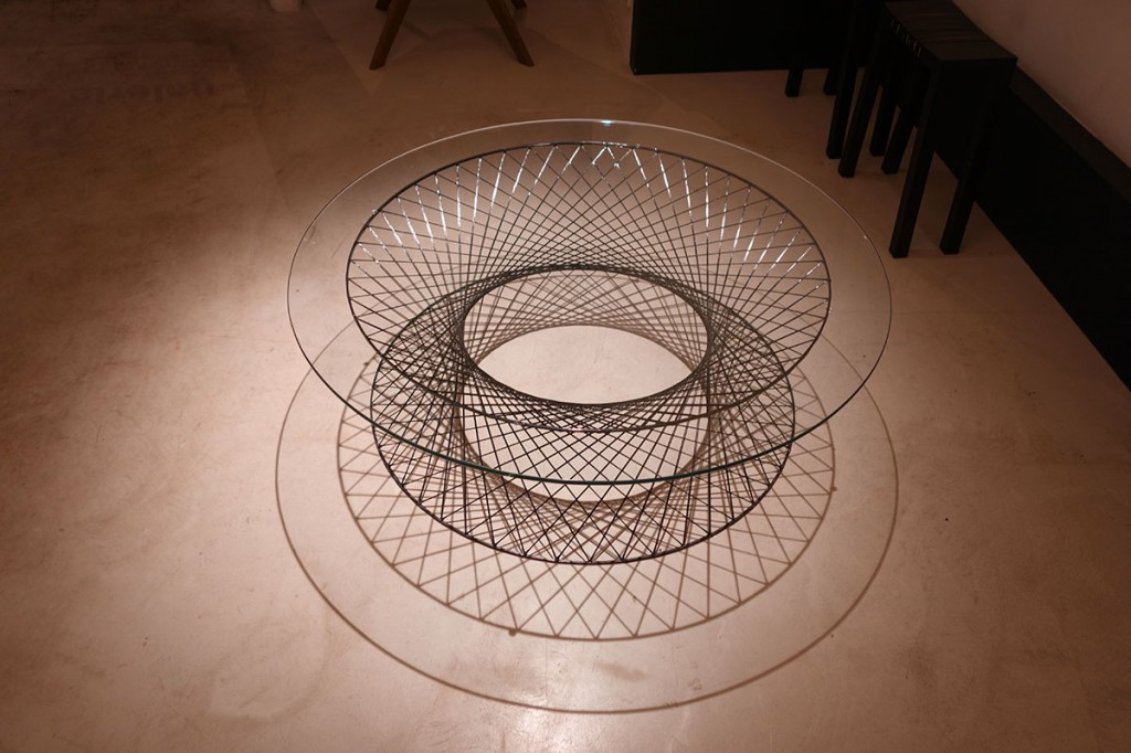 2004  Carbon-fibre and glass  H 35 cm. D 90 cm  Limited edition of 20 ex