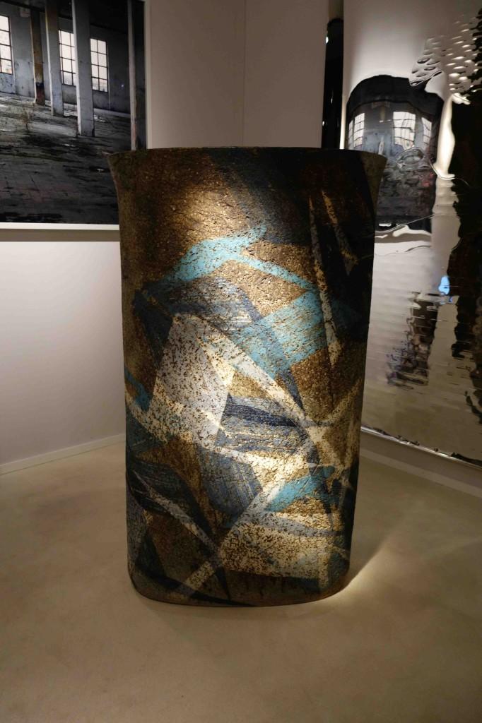 1989 H: 136 cm W : 77 cm Royal Copenhagen  Unique piece