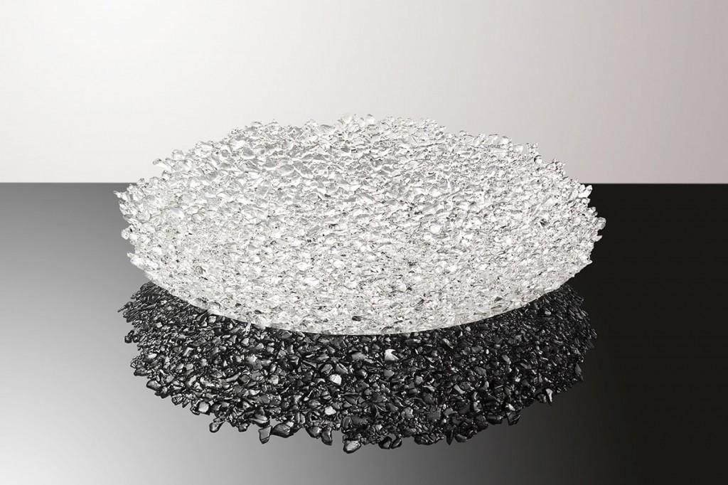2012  Murano glass  72 (D) x 9 cm (H)  Unique piece