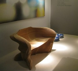 2012 Laser-cut maple wood 89 x 75 x 75 cm Limited edition of 20 pieces Courtesy of : Galerie Maria Wettergren