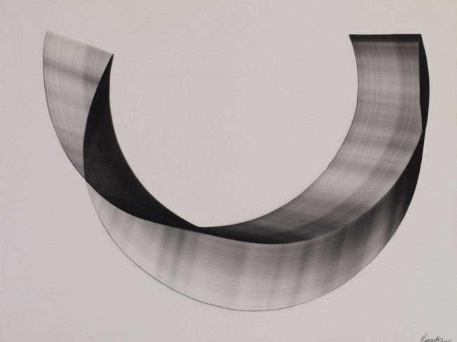 1963  Unique silver print photogram  61 x 46 cm
