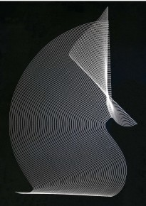 2010 Digital print made by the artist after a negative from 1966 40 x 57 cm  Limited edition of 8