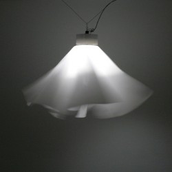 Pendant 2008  Fabric, LED, aluminium  Ca 120 x 80 cm  Limited edition of 8 (+ 2 prototypes + 2 A.P.)