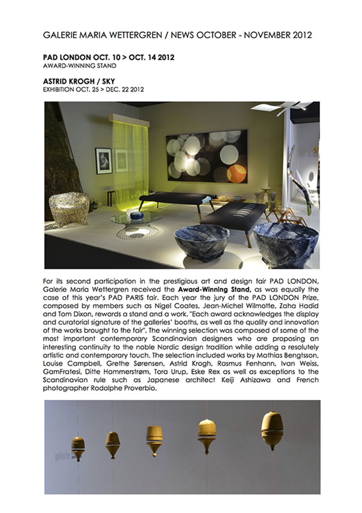 newsletterOCTOBER-NOVEMBER2012