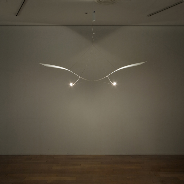 2007  Pendant  White coated aluminium plate  180 x 50 x 45 cm  Limited edition of 20