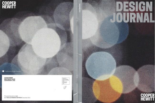 cooper hewitt design journal cover