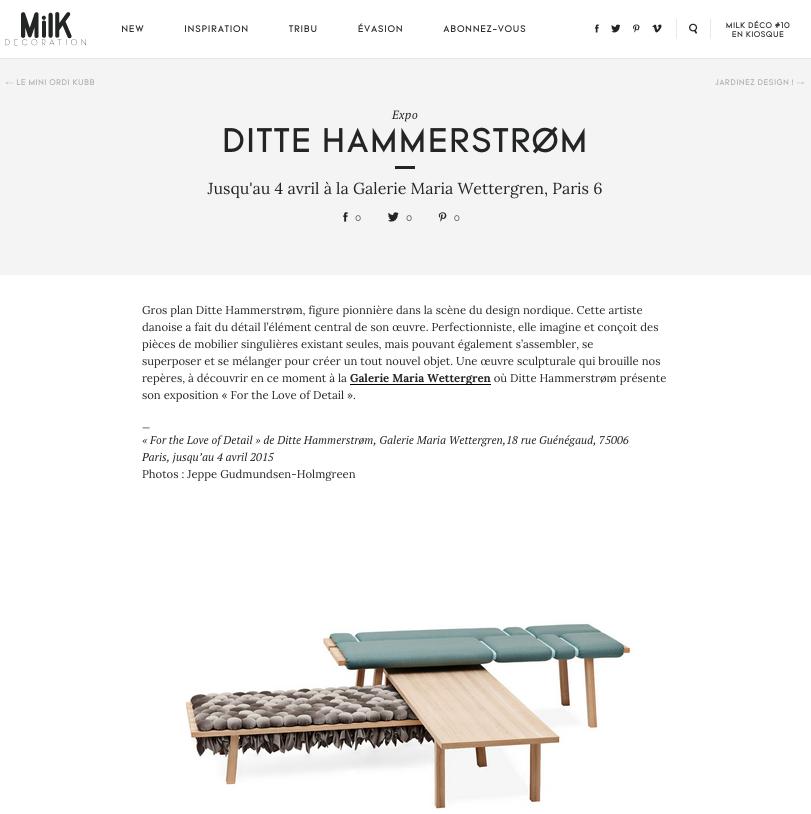 MilK Deco Maria Wettergren