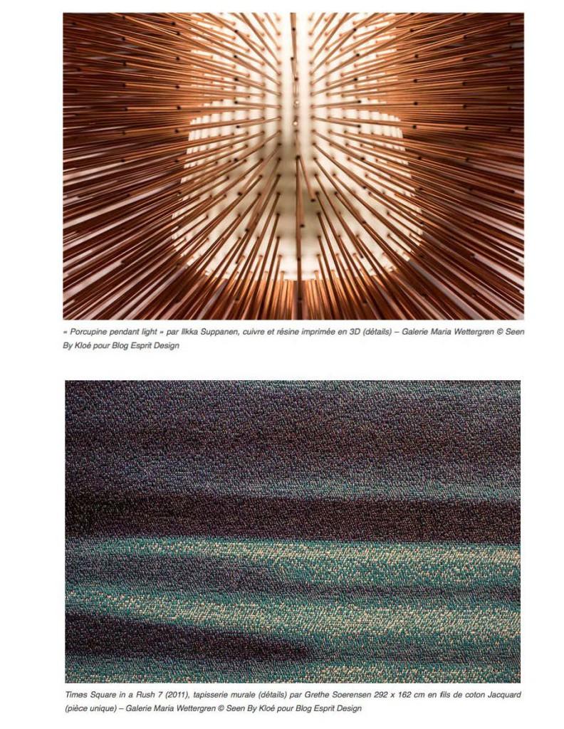 Blog Esprit Design maria wettergren - mw galerie | esprit design