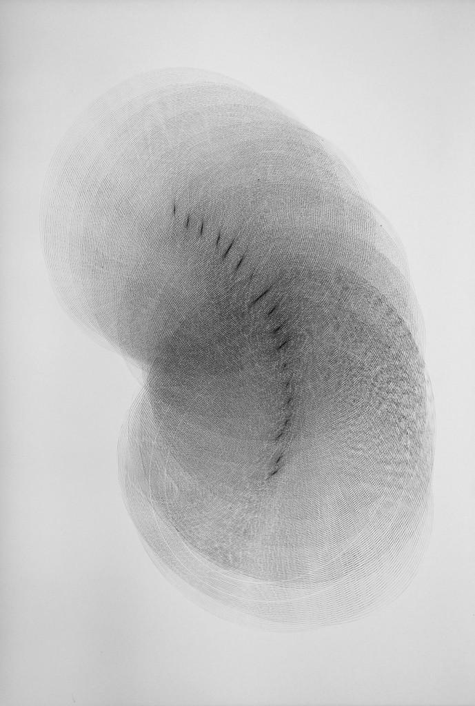 2013 Drawing 94 x 130 cm Unique piece