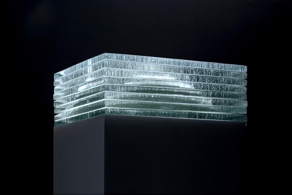 2016 Murano Glass, Silver 35 x 35 x 26,5 cm  Unique Piece