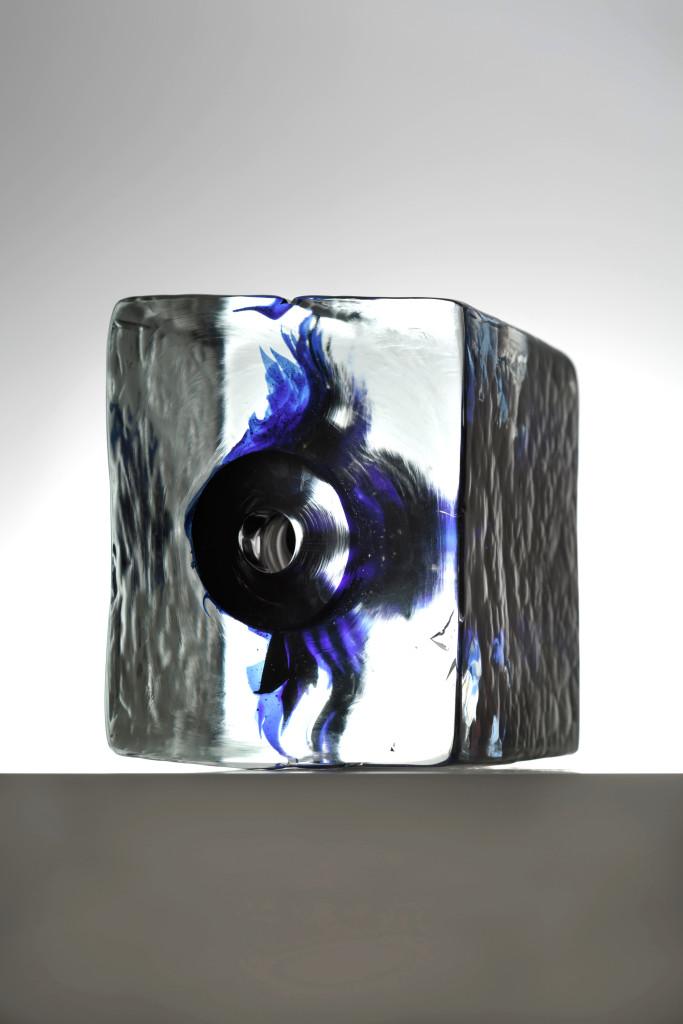 2016 Hand blow Glass 24 x 20,5 x 26,5 Unique Piece