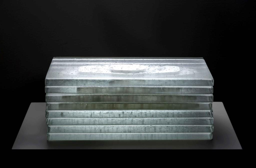 2016 Murano Glass, Silver 30 x 40 x 25 cm  Unique Piece