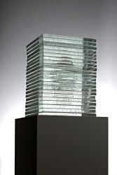 2016  Murano Glass, Silver 65 x 32 x 32 cm  Unique Piece