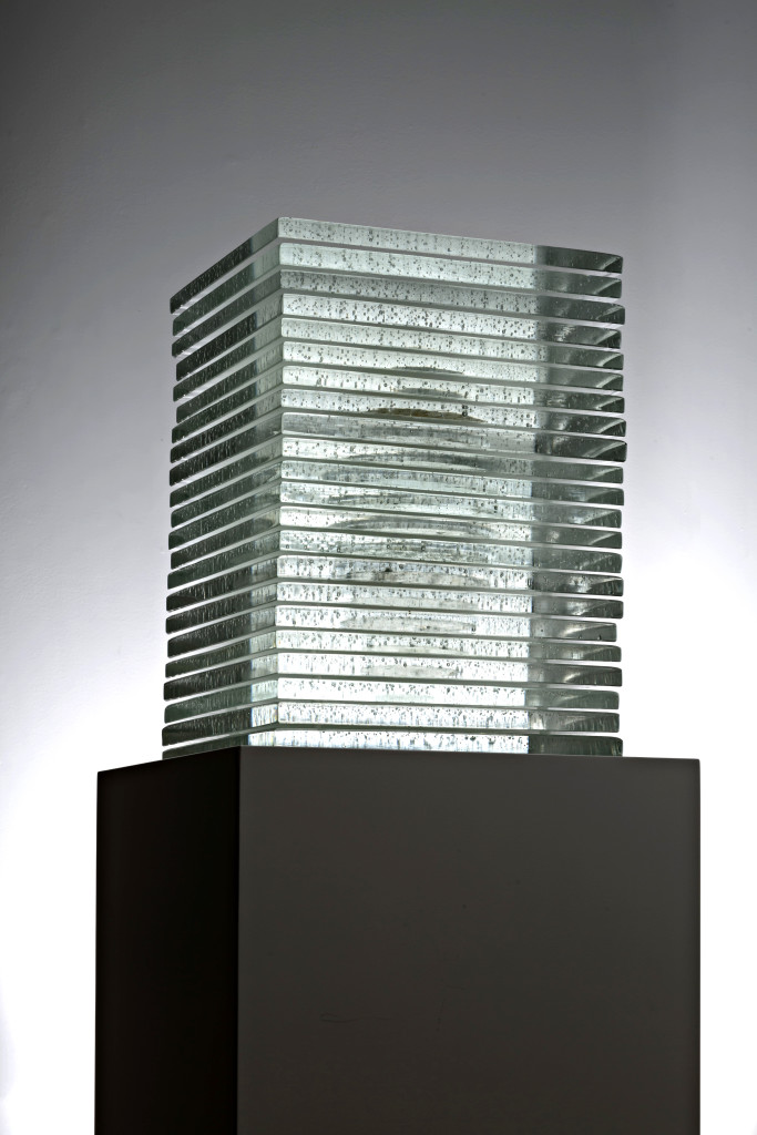 2016  Murano Glass, Silver 65 x 32 x 32 cm  Unique Piece