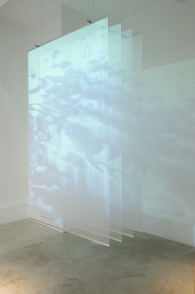 2016 Mixed media video installation Polyester, metal, video projector 152 x 244 x 60 cm  Limited edition of 5