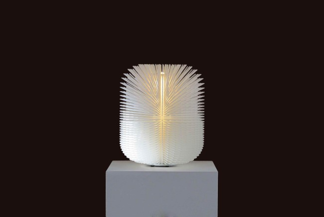 Standing 2015 (2006) 3D printed resin, LED D 45 x H 60 cm  Limited edition of 8