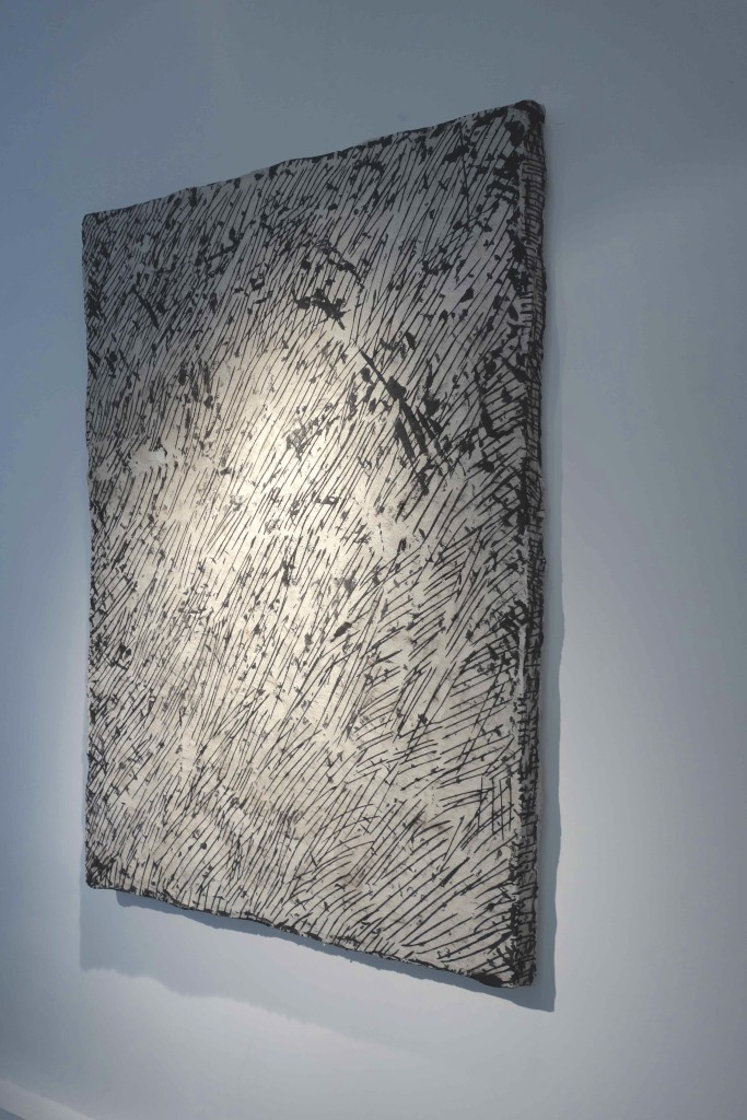 2016 Wall piece in concrete, steel, pigments, polysterene, steel  151 x 102 x 7 cm Unique piece made by the artist