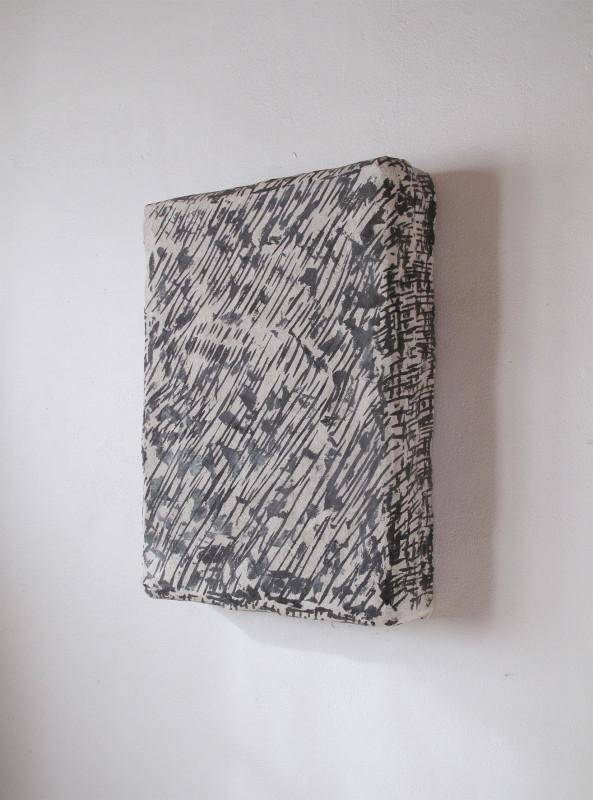 2016 Concrete, filler, pigments, polystyrene, steel L60 x W45 x D10 cm  Unique piece