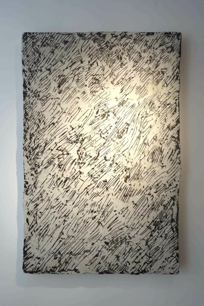 2016 Concrete, filler, pigments, polystyrene, steel 151 x 99 x 8 cm  Unique piece