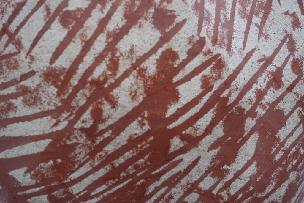 Détail 2016 Concrete, oxide pigment, steel, filler 45 x 35 x 65 cm Unique piece