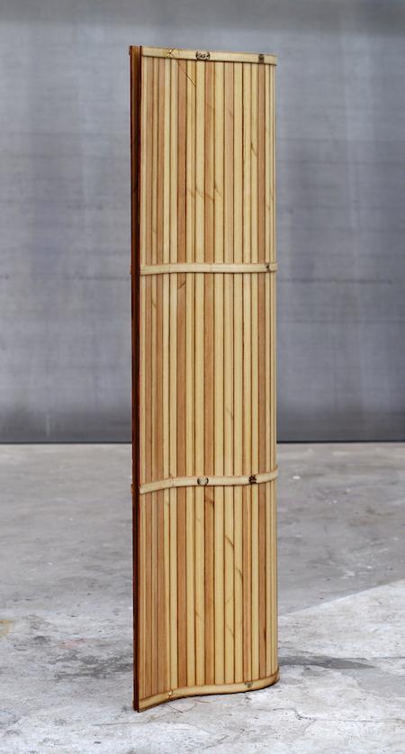 2014 Pine, leash 157 x 40 x 25 cm Unique piece