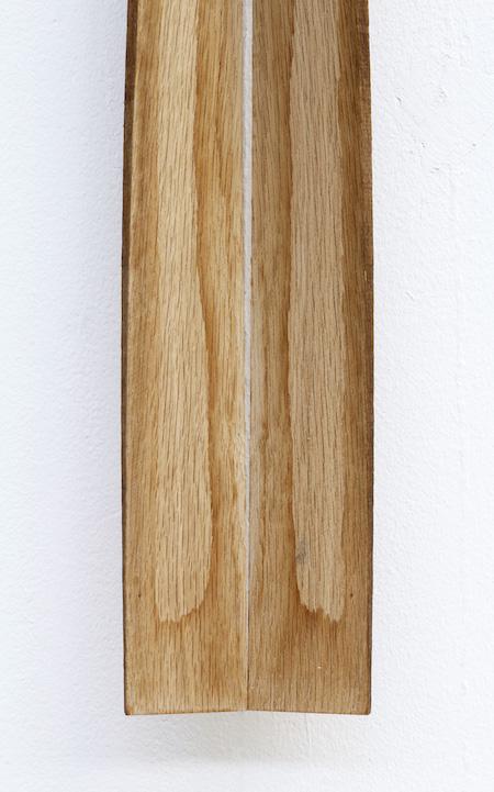 2016 Solid oak  185 x 13 x 7 cm Unique piece