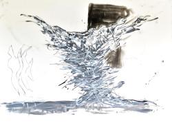 2015  Mixed media on paper H 73 cm x W 102 cm