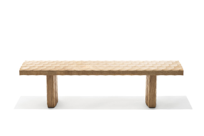 Bench, 2017 Solid Oak 145 x 33 x 37 cm
