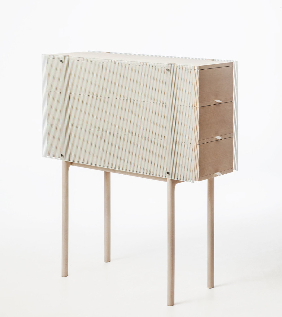 Chest of Drawers 100 x 28 x 106 cm