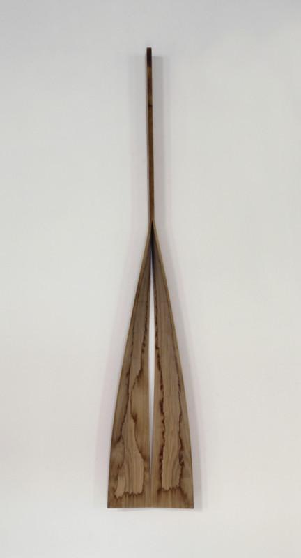Sculpture  Oak 194 x 36 x 20 cm Unique piece