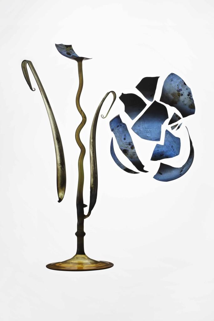 2009 – 2011 Karl Koepping Ornamental Floral Glasses Diasec print 68 x 48 x 3 cm