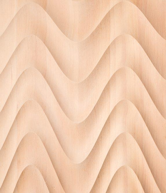 2018 Bench Solid Oregon Pine 195 x 84 x 34 cm