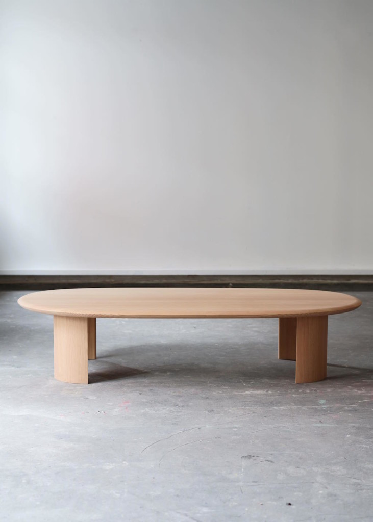 Table/Bench Oregon Pine 139, 6 x 74 x 30 cm Limited editions of 6 in different woods