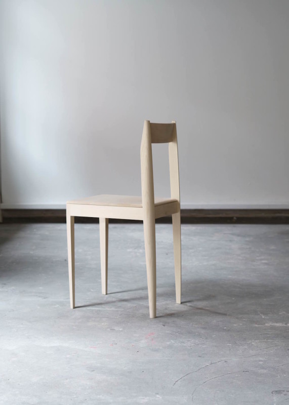 Chair Maple 34 x 38 x 78 cm Limited editions of 12 in different woods