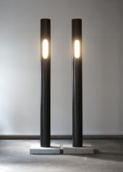 2018 Lamp Steel tube, LED light 280 x 30 x 30 cm