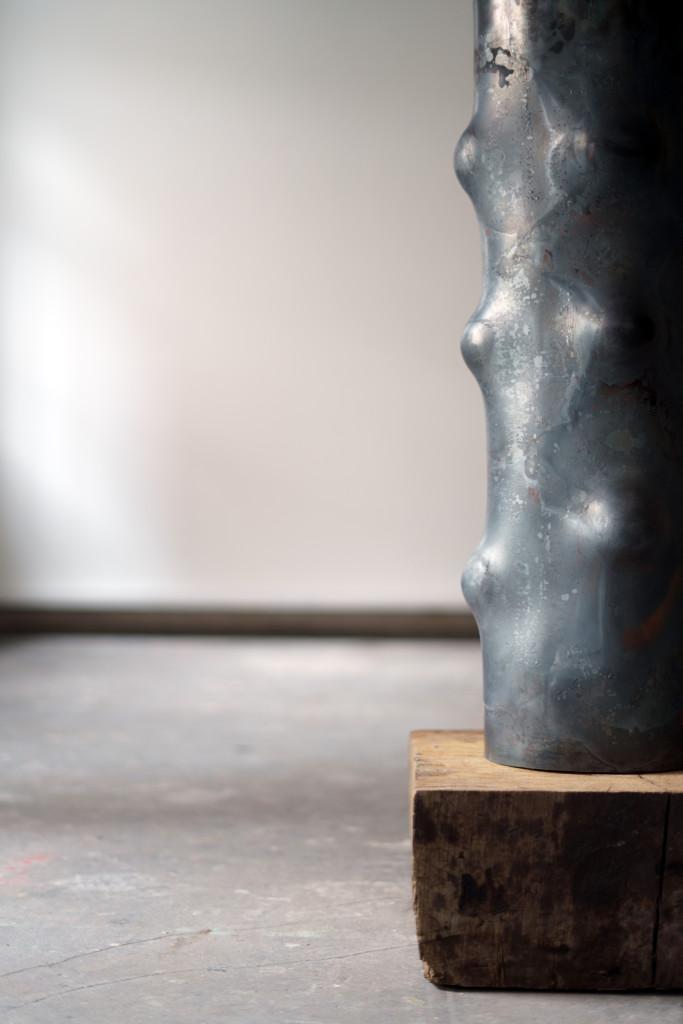 2018 Sculpture Steel tube 90 x 21 cm
