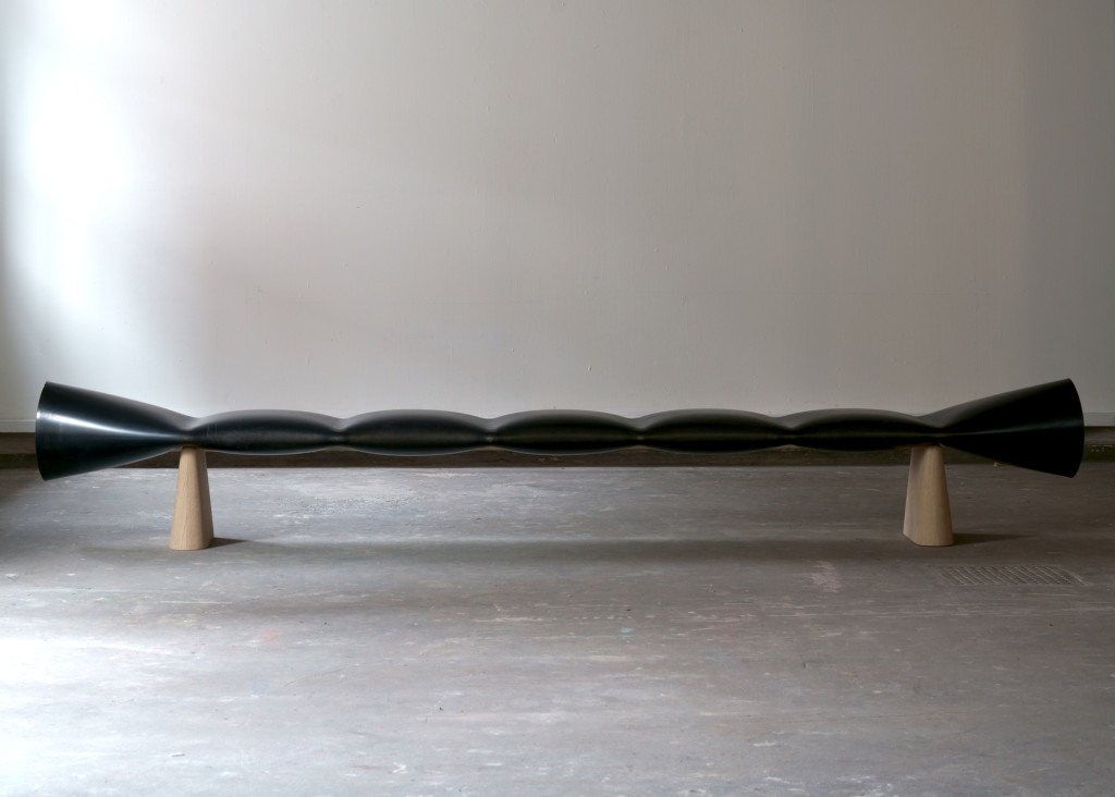 2018 Bench Steel tube 260 x 35 x 45 cm