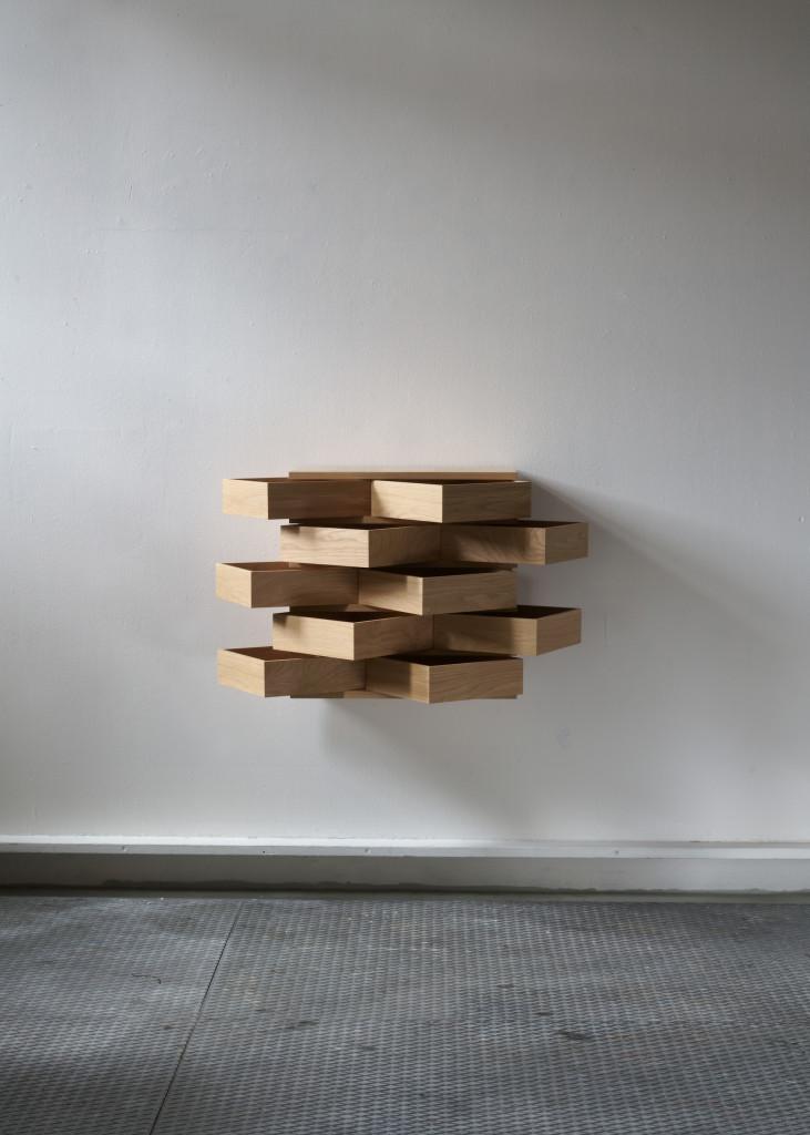 2019 Chest Oak  39 x 63 x 63 cm