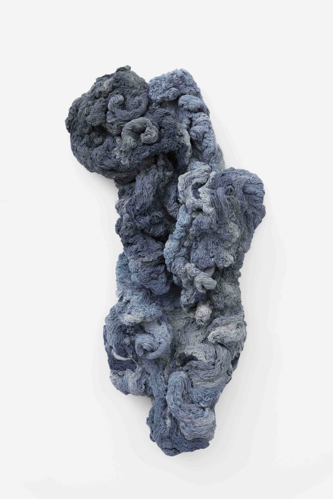 2008 Denim, sewn by hand 117 x 50 x 24 cm