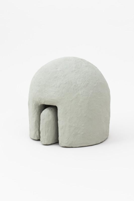 2018 Fiber concrete, pigment from crushed stones 40 x 40 x 40 cm Unique piece