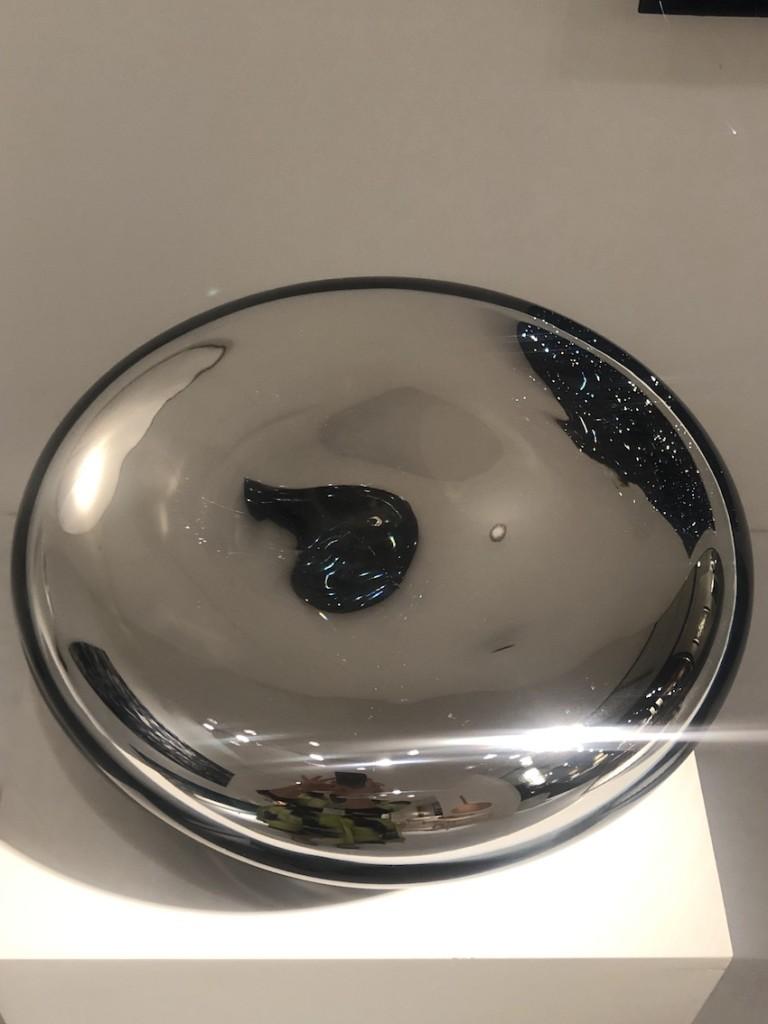 Handblown Murano Glass, Silver Nitrate Made in collaboration with Fornace Zanetti, Murano 32 x 32 x 12 cm Unique piece