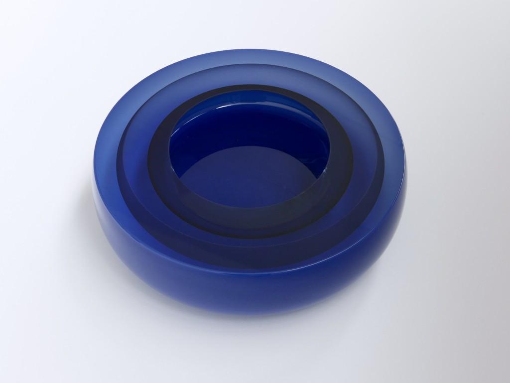 2019 Mouthblown, handcut and polished glass 9 x 31 cm Unique piece