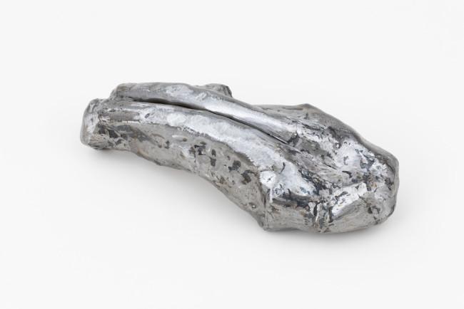 Steel, lacquer 17 x 17 x 48 cm Unique piece
