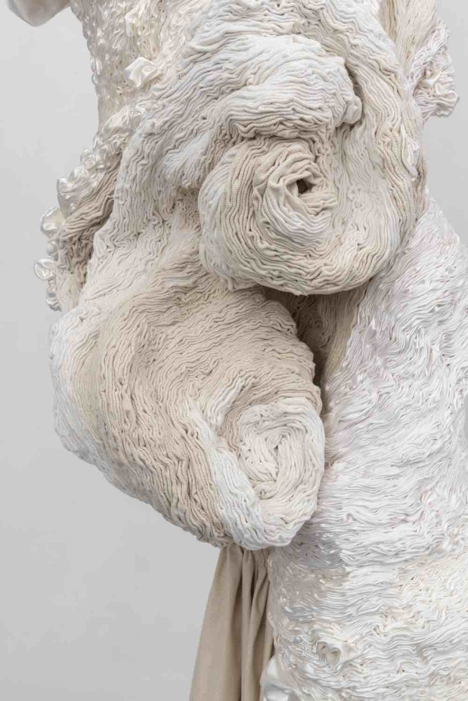 2019 Cotton, satin 265 x 55 cm Unique Piece